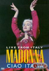 madonna ciao italia dvd photo