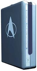 star trek the next generation season 7 7 disc box set dvd photo