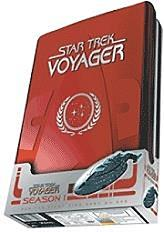 star trek voyager season 1 5 disc box set dvd photo