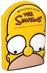 the simpsons season 6 4 disc box set dvd photo