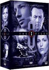 the x files season 8 6 disc collectors edition box set dvd photo