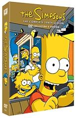 the simpsons season 10 4 disc box set dvd photo