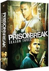 prison break season 3 4 disc box set dvd photo