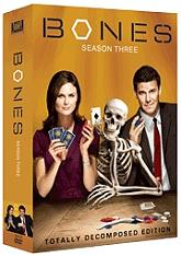 bones season 3 4 disc box set dvd photo