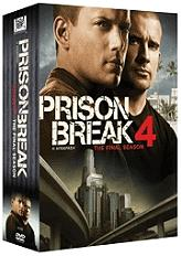 prison break season 4 6 disc box set dvd photo