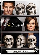 bones season 4 7 disc box set dvd photo