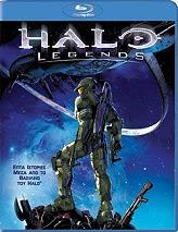halo legends blu ray photo