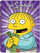 the simpsons season 13 4 disc box set dvd photo
