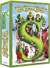 srek the whole story 4 disc box set dvd photo