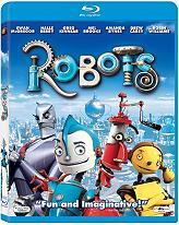 robots blu ray photo