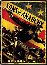 sons of anarchy season 2 4 disc box set dvd photo