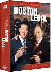 boston legal season 5 dvd photo
