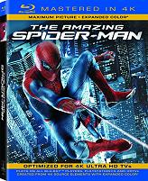 the amazing spiderman 4k blu ray photo