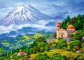 trefl puzzle 1000pz landscape with volcano extra photo 1