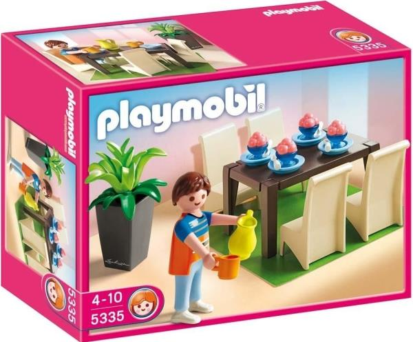 Playmobil 5335 dining room playmobil for Playmobil dining room 5335