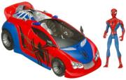 spiderman animated car vehicle photo