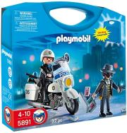 playmobil 5891 carrying case police photo