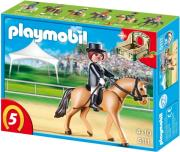 playmobil 5111 dressage horse with stall alogo dressage photo