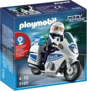 playmobil 5185 police motorcycle astynomiki motosykleta photo