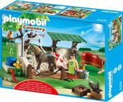 playmobil 5225 horse care station stathmos frontidas alogon photo