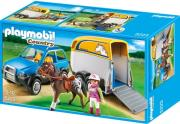 playmobil 5223 suv with horse trailer oxima me treler metaforas alogon photo