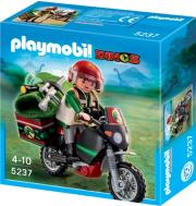 playmobil 5237 explorer with motorcycle exereynitis deinosayron me motosikleta photo