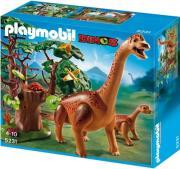 playmobil 5231 braciosaurus with baby braxiosayros me to mikro toy