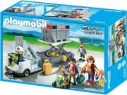 playmobil 5262 aircraft stairs with passengers and cargo skales me epibates kai emporeymata photo