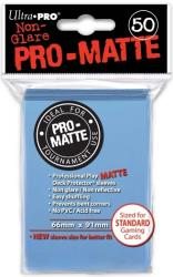 light blue pro matte deck prot50ct for pokemon mtg wow dungeons photo
