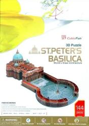 stpeters basillica 3d puzzle 144pz cubicfun photo