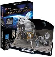 apollo lunar module 3d puzzle 104pz cubicfun photo