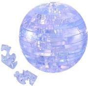 bard crystal puzzle globe photo