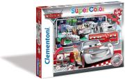 pazl 104 disney cars silver photo