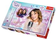 trefl puzzle 500pcs violetta let s sing photo