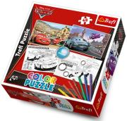 trefl puzzle color cars photo