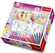 trefl puzzle color princess photo