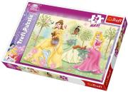 trefl puzzle maxi 24pcs princess photo