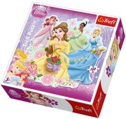 trefl puzzle silhouette 150pcs princess photo