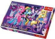 trefl puzzle shine 160pcs equestrian fr photo