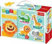 trefl puzzle baby classic safari photo