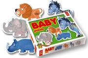 trefl puzzle baby african animals photo