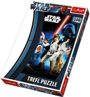 trefl puzzle 500pcs star wars photo