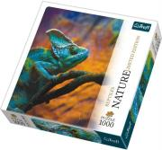 trefl puzzle 1000pcs nature chameleon photo