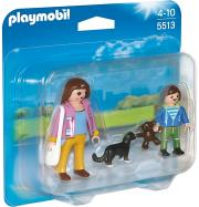 playmobil 5513 duo pack mama kai paidi photo
