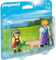 playmobil 5514 duo pack agrotissa kai agoraki photo