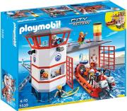 playmobil 5539 ploti basi aktofylakis me faro photo