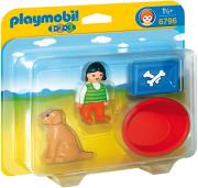 playmobil 6796 koritsi me skylaki photo
