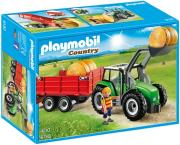 playmobil 6130 trakter me karotsa photo