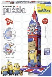 ravensburger pazl 3d big ben minions photo