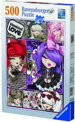 ravensburger pazl 500tem kimmidoll love photo